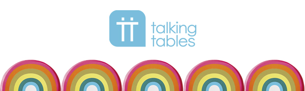 Talking Tables - Banner con logo