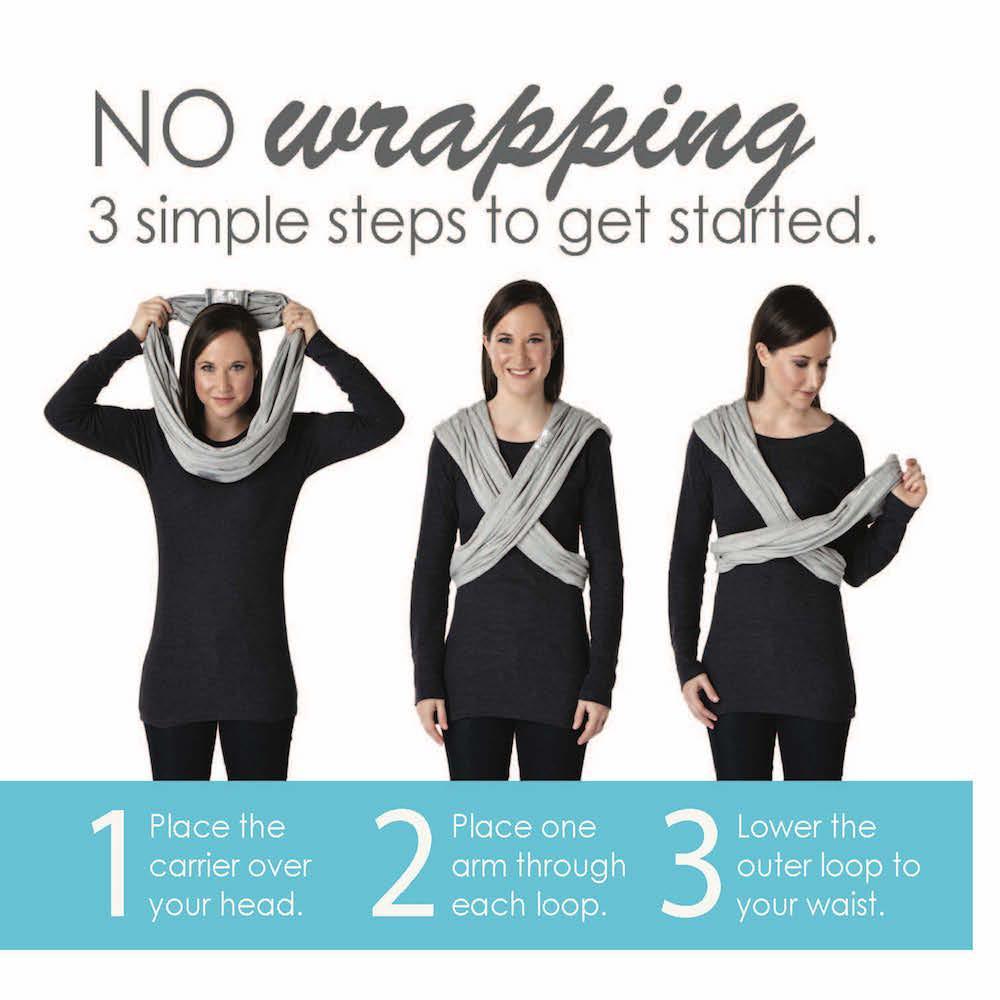 Amazon Com Baby K Tan Breeze Cotton Mesh Wrap Style Baby Carrier