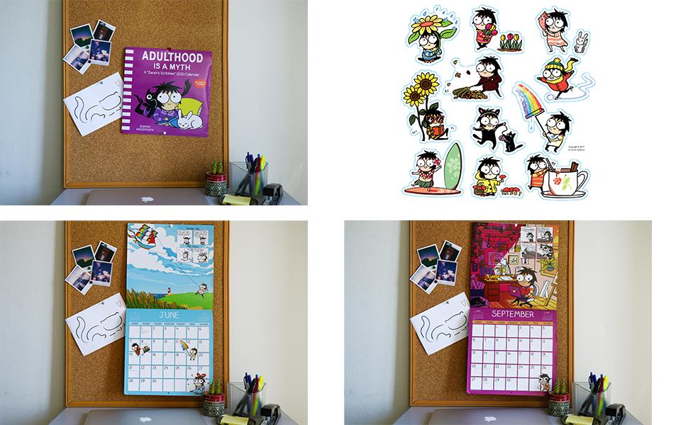 Sarahs Scribbles 2020 Wall Calendar: Sarah Andersen ...