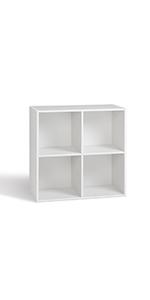 Compo 4 casiers 4 cubes rangement étagères