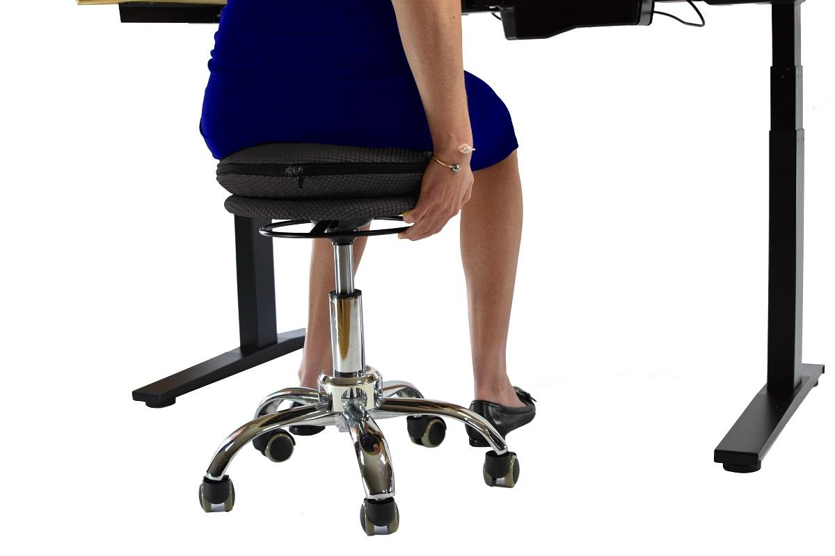 Wobble Stool Air Rolling Adjustable Height Active Sitting