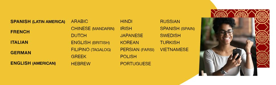 Languages offered