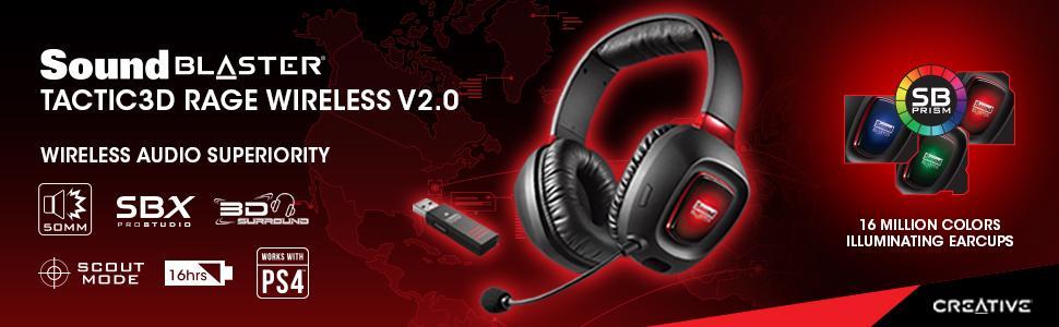 creative sound blaster tactic3d rage wireless