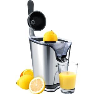 Steba, citruspers, sap, genot, gezond, fruit
