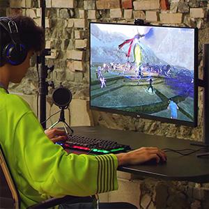 LGP-display, perfect voor gamers.