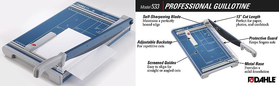 amazon com dahle 533 professional guillotine trimmer 13 3 8 cut