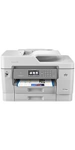 Brother Inkjet Printer, MFCJ6945DW, INKvestmentTank Color Inkjet All-in-One Printer with Wireless, Duplex Printing and Up to 1-Year of Ink in-Box, ...