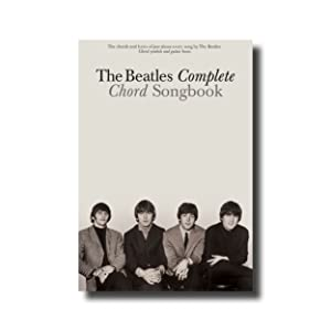 the beatles complete chord songbook 0073999063493 the beatles books. Black Bedroom Furniture Sets. Home Design Ideas