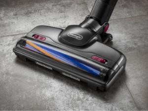 DeLonghi XLM21LE2.GYV - Aspirador Ciclónico sin Bolsa con batería de Litio extraíble de 21.6 V y Kit de Accesorios, Color Violeta y Negro: Amazon.es: Hogar
