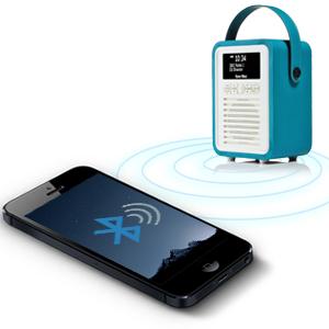 DAB Radio, FM Radio, AM Radio, Bluetooth Speaker, Retro Mini, VQ