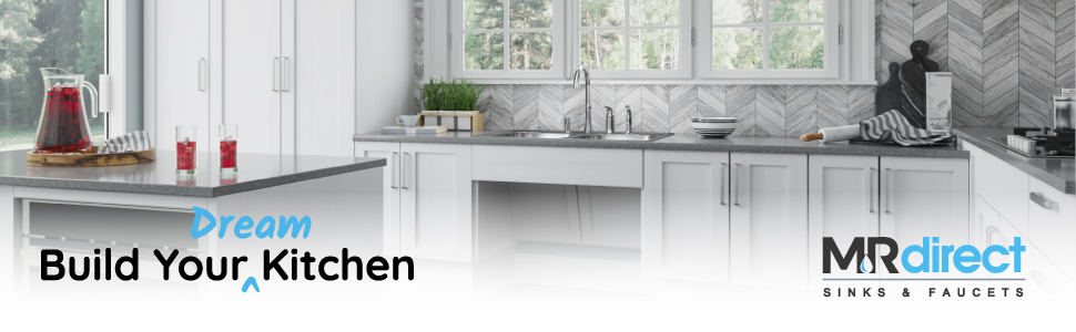 MR Direct is a leading supplier of kitchen sinks and faucets.