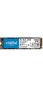 SSD Crucial P2