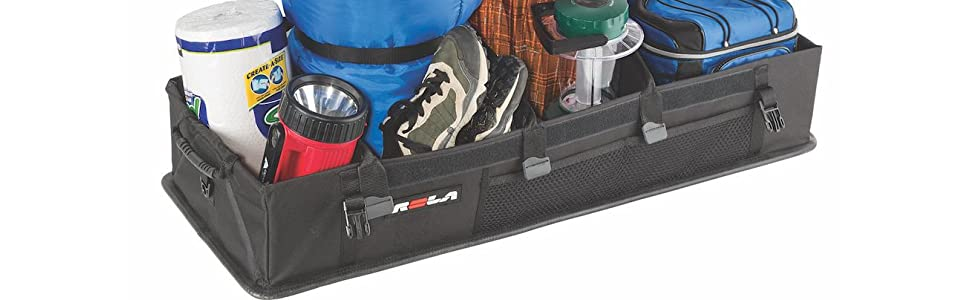 trunk truck organizer car suv secure rigid base strong customizable