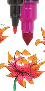 crayola signature markers, crayola signature, crayola markers, art markers, hand lettering markers