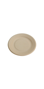 compostable 6inch plate