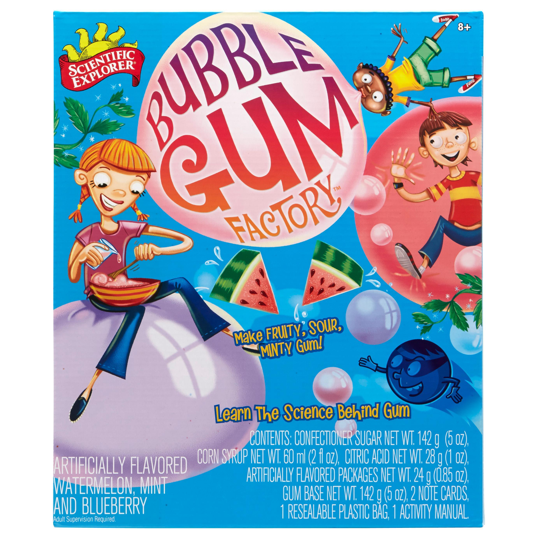 Amazon Scientific Explorer Bubble Gum Factory Kit Toys & Games