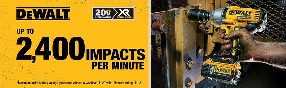 2,400 IMPACTS per Minute