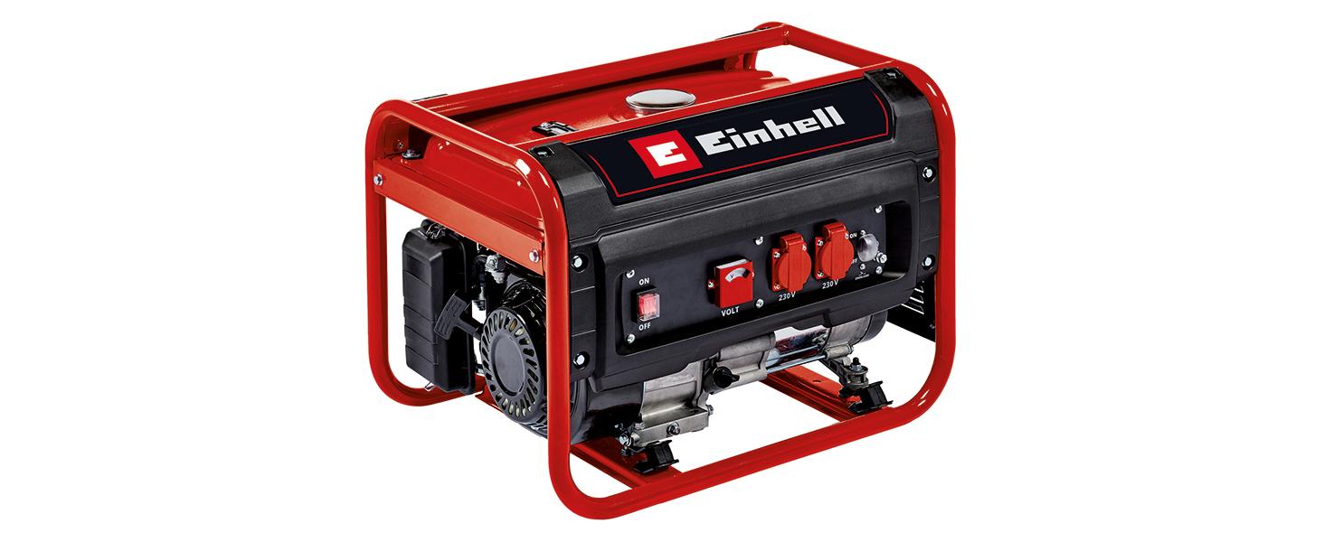 Einhell Generador eléctrico (gasolina) TC-PG 25/E5 (máx. 2400 W ...