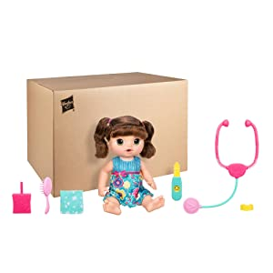 Amazon Com Baby Alive Sweet Tears Baby Brunette Toys