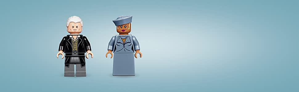 LEGO Harry Potter Minifigure Gellert Grindelwald  Seraphina Picquery From 75951