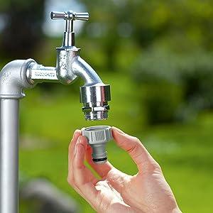 tap connector,gardena,watering