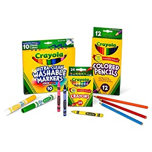 Crayola Back to School 2017 Set Grades 3-5 -Package Contents