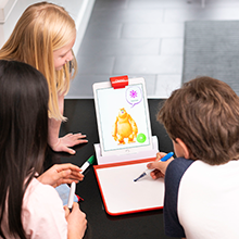 Mo the monster having fun with osmo learning to draw starter drawing or improve drawing skills asomo