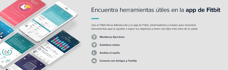 Encuentra herramientas útiles en la app de Fitbit