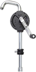 GROZ Heavy Duty Rotary Vane Manual Fuel Transfer Pump