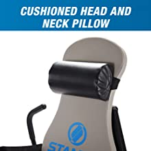 cushioned head and neck pillow