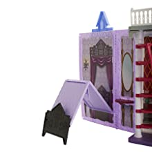 Castello, Frozen, Arendelle, Bambole, prodotto, letto, scala