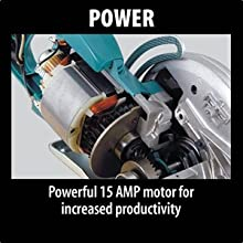 power powerful fifteen amperage motor for increased productivity insided working motor