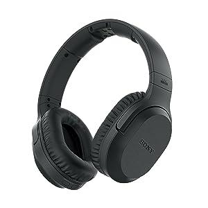 Sony MDR-RF895RK Auriculares Inalámbricos (Cancelación de Ruido, Transmisión por Radiofrecuencia, 20 Horas de Batería, Modo Voz), Color Negro, 30: Sony: Amazon.es: Electrónica