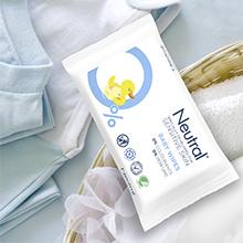 Neutral Baby Billendoekjes voor de gevoelige babyhuid, verkleint de kans op huidirritatie, doekjes