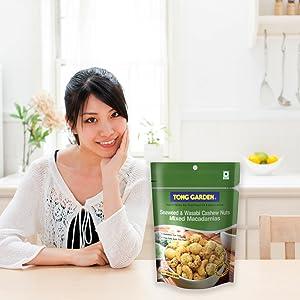 Seaweed & Wasabi Cashew Nuts Macadamias Mix
