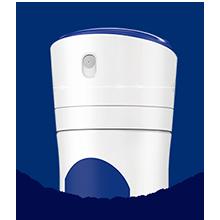 No cap no breakage Easy to hold Click-Lock system Softer spray on skin