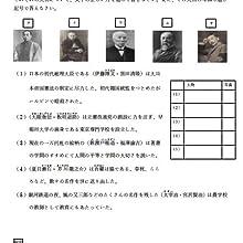 日本史 明治~大正時代の人物編