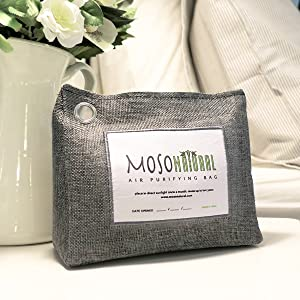 moso natural air purifying bag bamboo charcoal odor eliminator absorber smell deodorizer