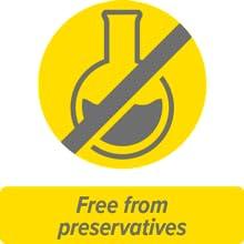 Fri från konserveringsmedel