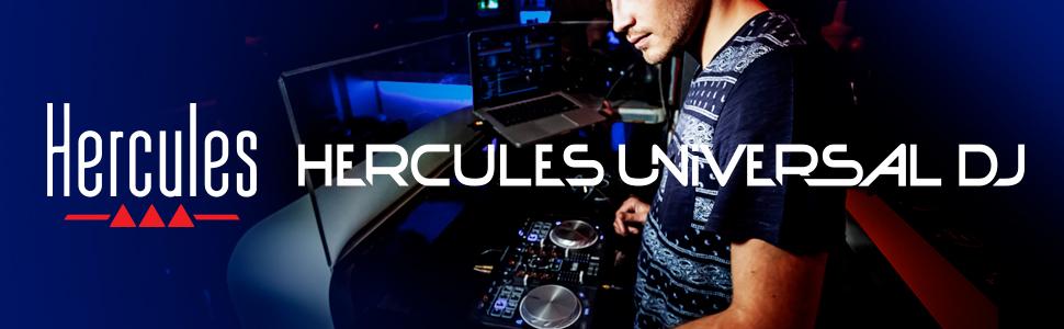 Hercules - Hercules Universal Dj - Controlador Dj - PC / Mac / Tablets - Controlador Versatíl para Mezclar Desde Todos Tus Dispositivos, Android, IOS, PC y Mac, Negro: Hercules: Amazon.es: Instrumentos musicales