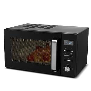 MEDION MD 18042 - Microondas con grill, 900W, grill de 1000W ...