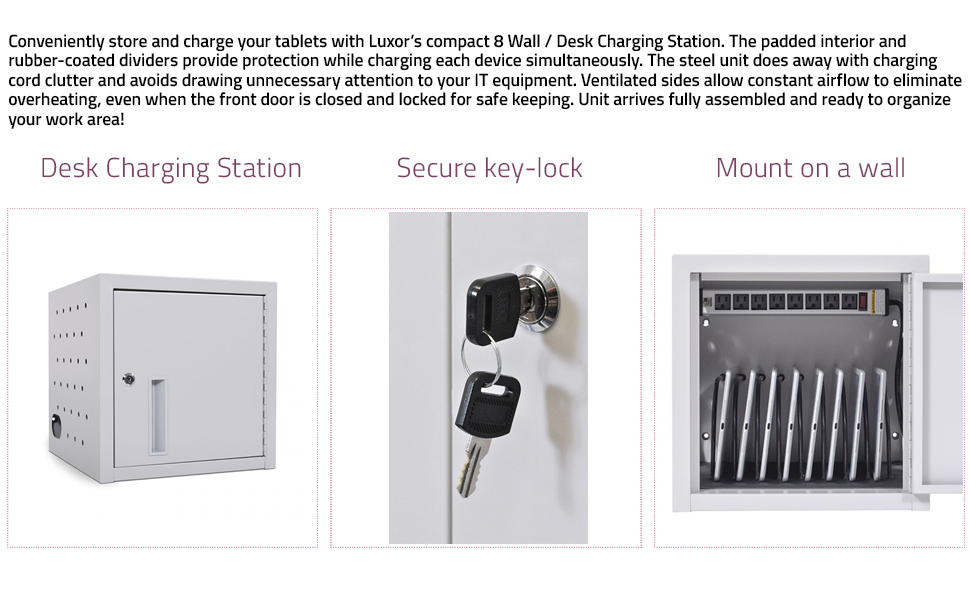 wall charging cabinet