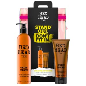 tigi bed head bedhead coloured hair colour goddess gift set hair care women protect enhance shine