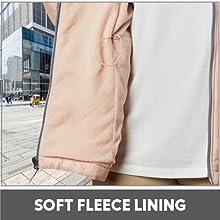 Soft Fleece Lining