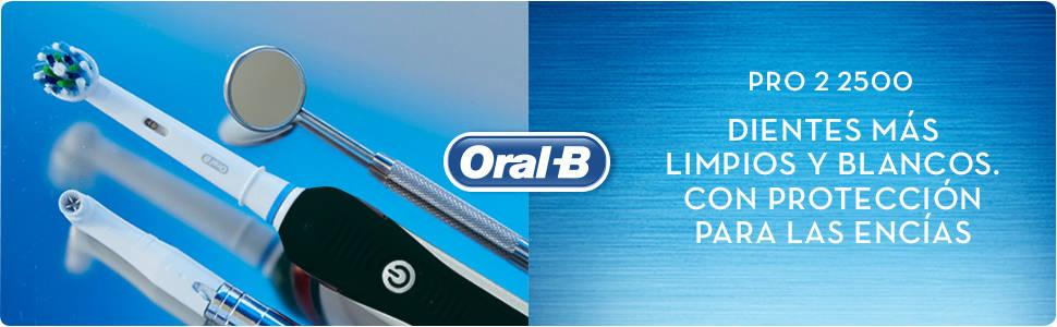 Oral-B PRO 2 2500 CrossAction - Cepillo de Dientes Eléctrico ...