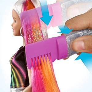 Barbie Bambola con Capelli Arcobaleno e tanti accessori