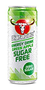 carabao;green;apple;sugar;free;energy;drink;zero;sugar;calories;carabow;caraboa