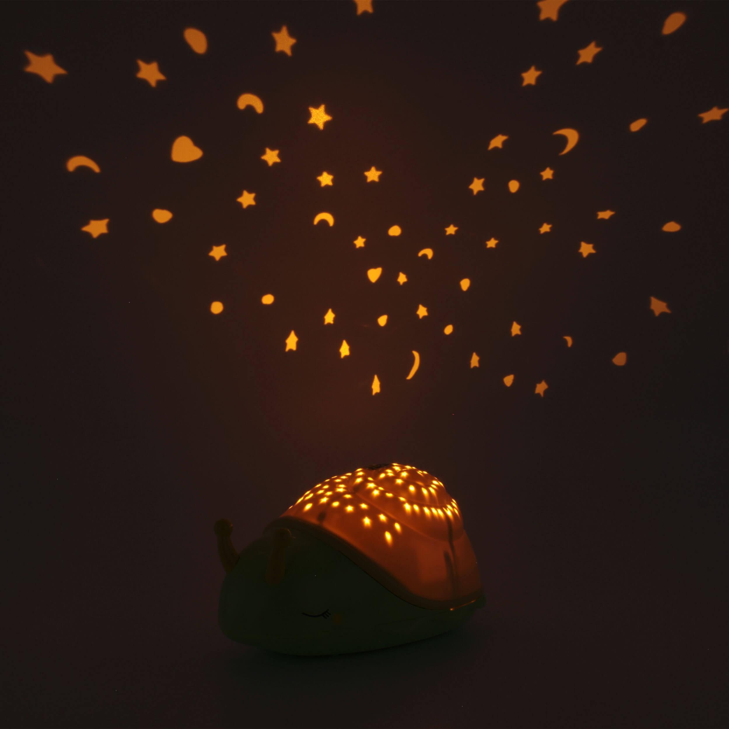 ANSMANN LED Sternenhimmel Projektor Schnecke
