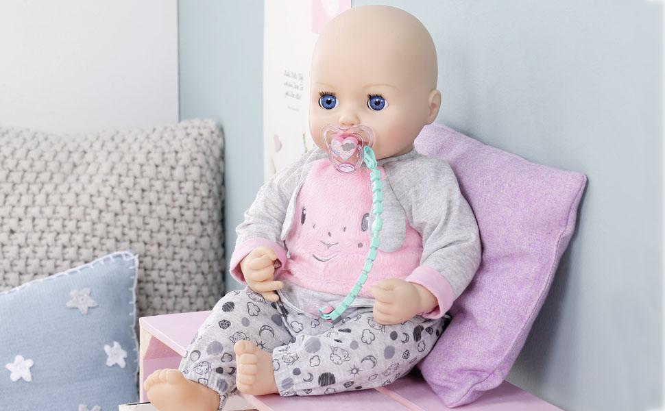 Zapf Creation 700785 Baby Annabell/® Schnuller mit Clip