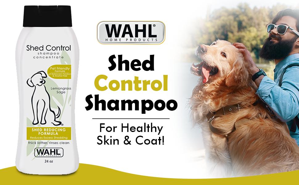 SPN-FOR1 Wahl 820005 Shed Control Shampoo, Lemongrass Sage